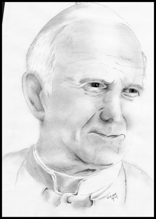 John Paul II by sylwia1919